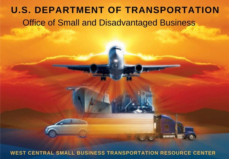 U.S. Department of Transportation: Office of Small and Disadvantaged Businesses logo
