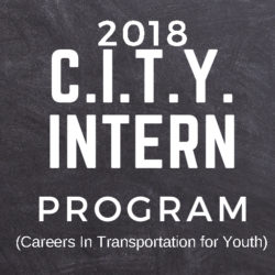 2018 City Intern Program by COMTO