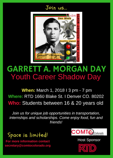 Garrett A. Morgan Flyer
