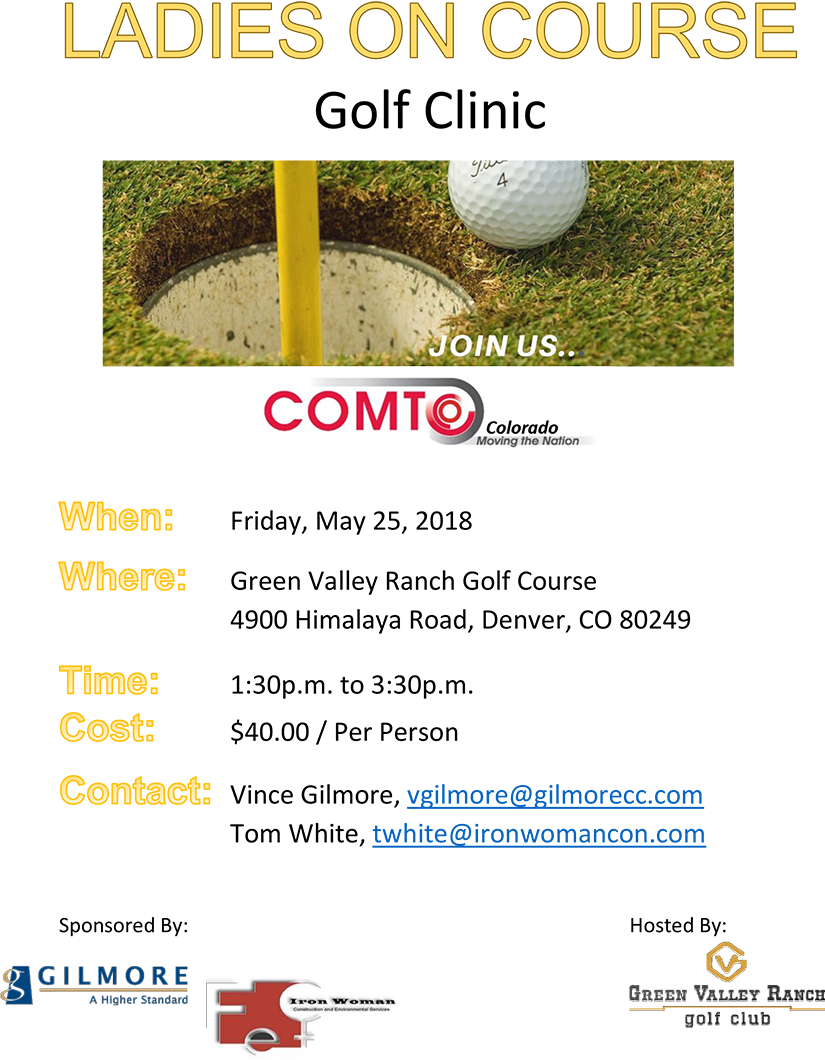 Ladies On The Course May 2018