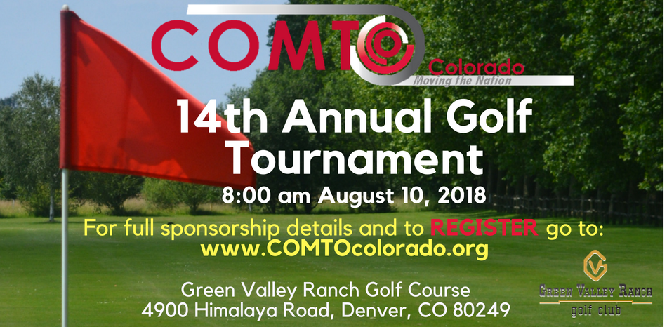 14th Annual Golf Tournament Website Banner