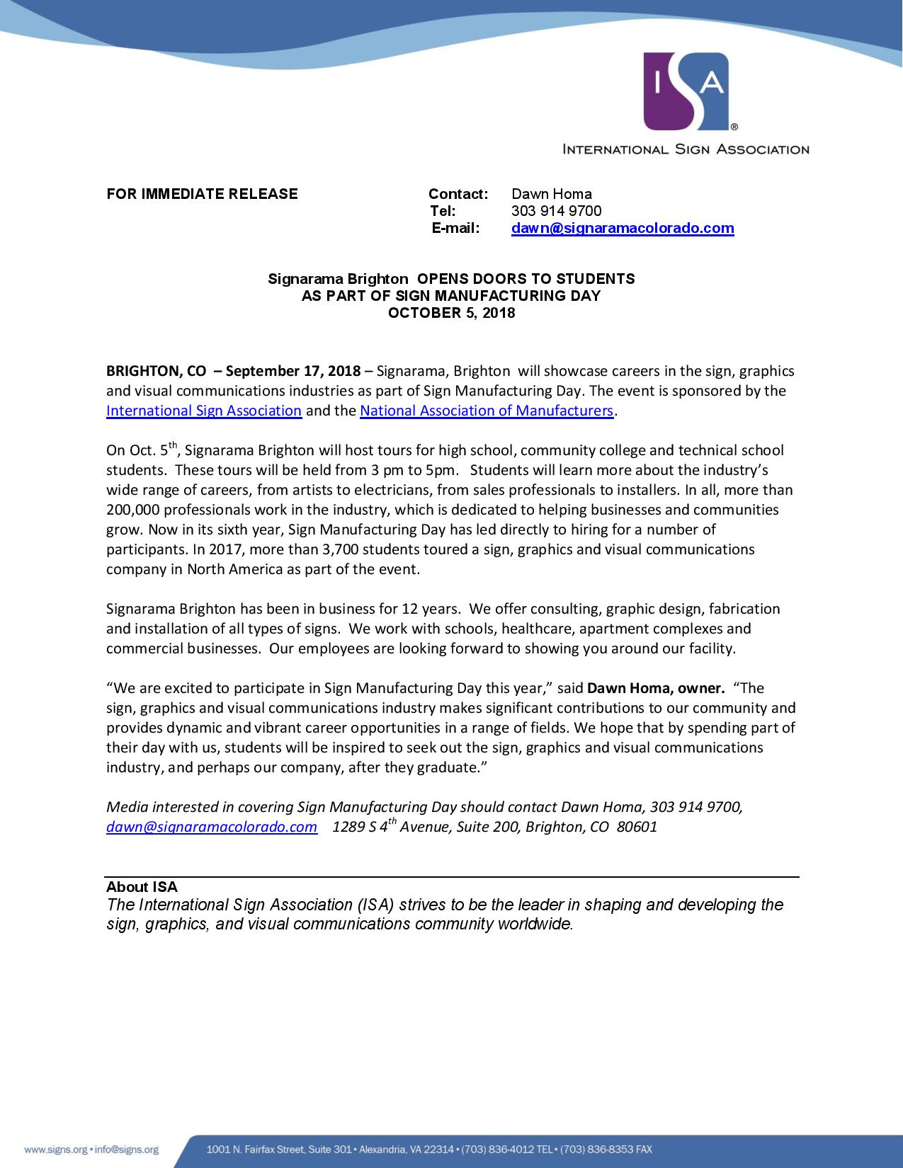 2018 Sign MFG Day Press Release-page-001
