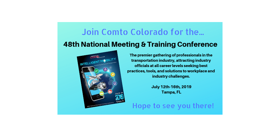 OMTO Colorado 48th National Meeting & Training 2019