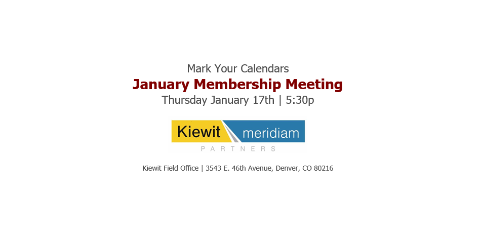 January 2019 Meeting COMTO CO