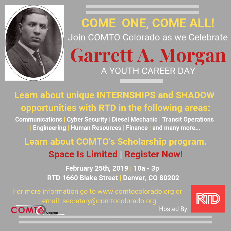 Garrett A. Morgan Day 2019